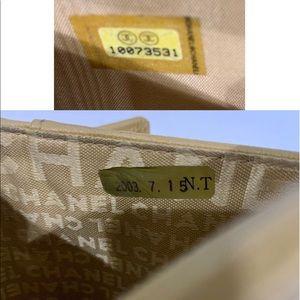 CHANEL Bags - CHANEL Chocolate Bar CC Mark Lambskin Wallet